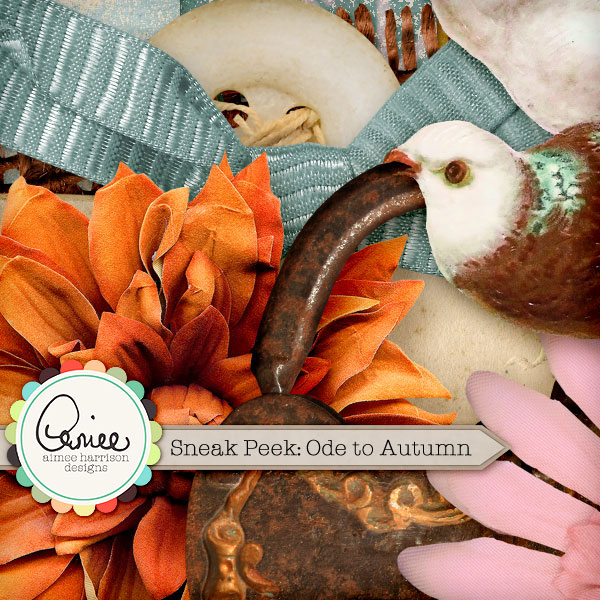 Sneak Peek: Ode to Autumn