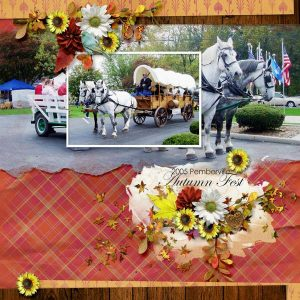 Layout by Kathy (template: A Little Bit Arty #6 by Heartstrings Scrap Art)