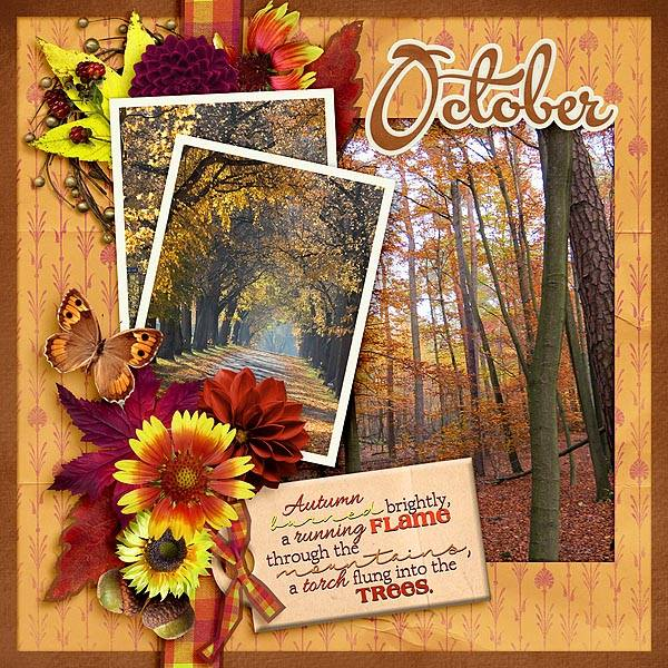 Layout by Kay (template: 360 Life October - Autumn Cozy)