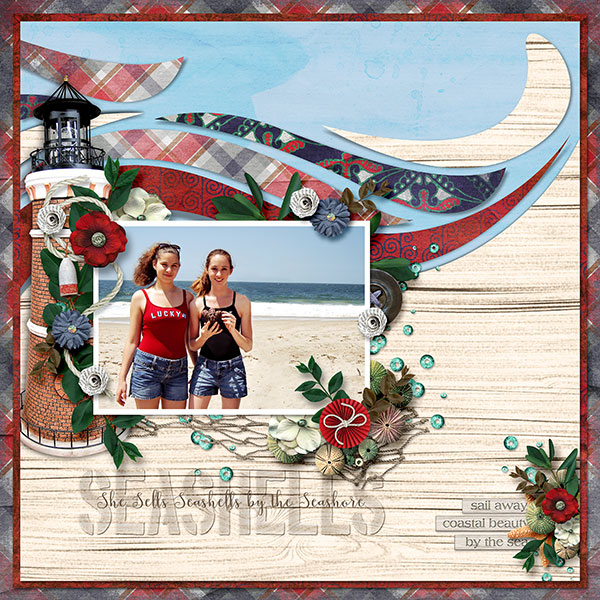 Layout by Connie (template: One-derful #9 by Heartstrings Scrap Art)