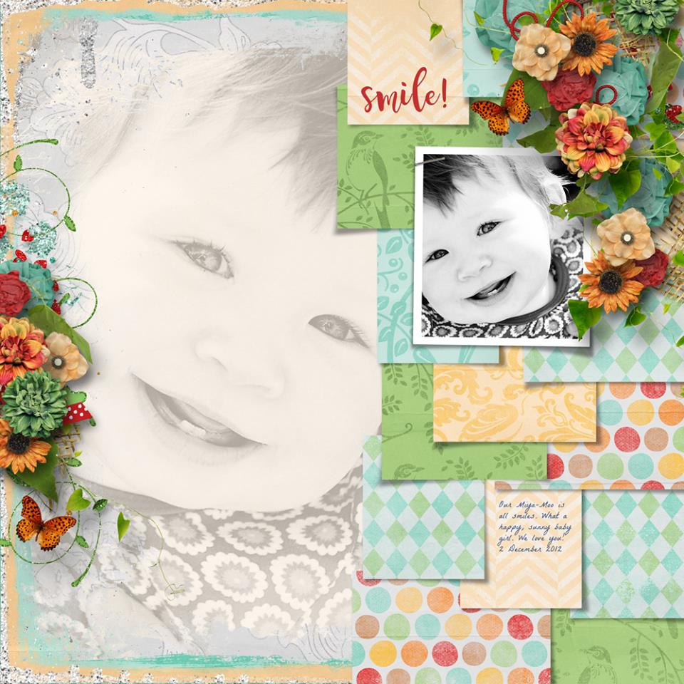 Layout by Bryony (template: Strip It #6 by Heartstrings Scrap Art)