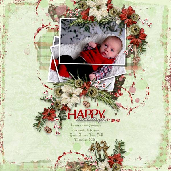 Layout by Dee (template: Arty Inspiration 10 by Heartstrings Scrap Art)