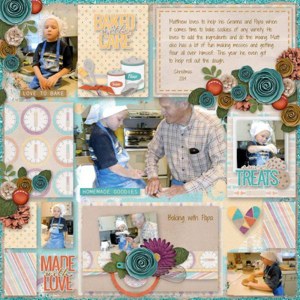 Layout by Dee (template:  My Arty Pockets #7 by Heartstrings Scrap Art)