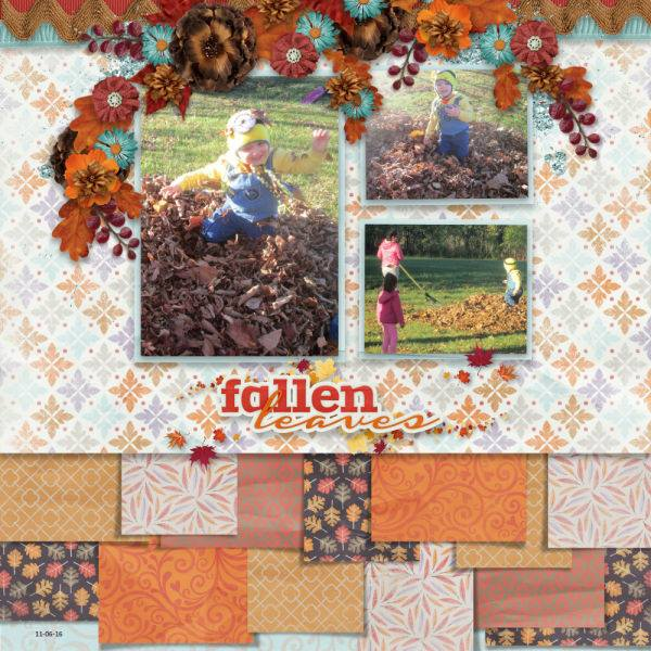 Layout by Dee (template: Strip It #6 by Heartstrings Scrap Art)