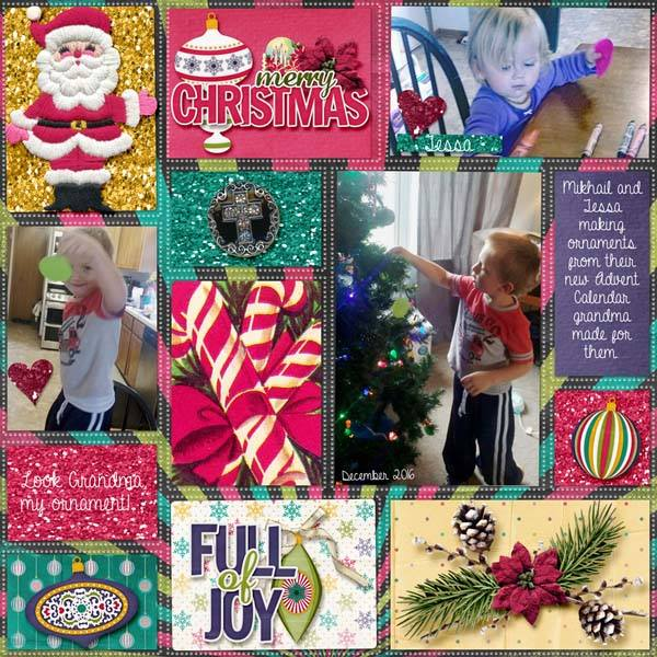 Layout by Kathy (template by Heartstrings Scrap Art)
