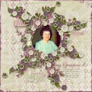 Layout by Dee (template by Heartstrings Scrap Art)