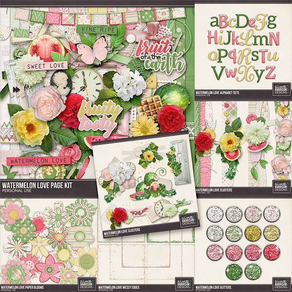 New Buffet Collection Watermelon Love on A Juicy Collection Of Blooms Digital