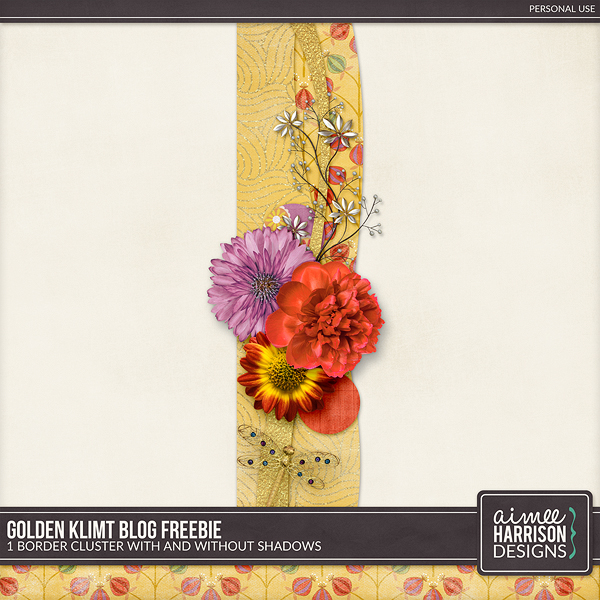 Golden Klimt is On Sale and a Freebie!