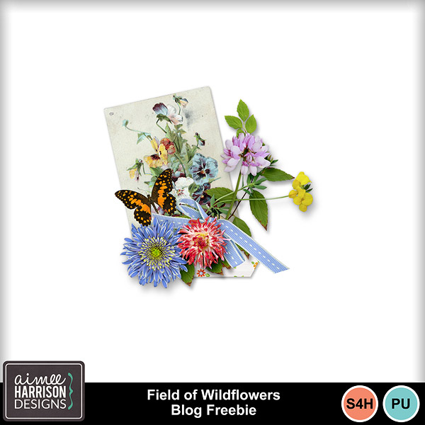 Field of Wildflowers is on Sale and a Freebie!