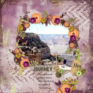 Layout by Dee (Template: Wanderlust 2 by Heartstrings Scrap Art, available at Digital Scrapbooking Studio)