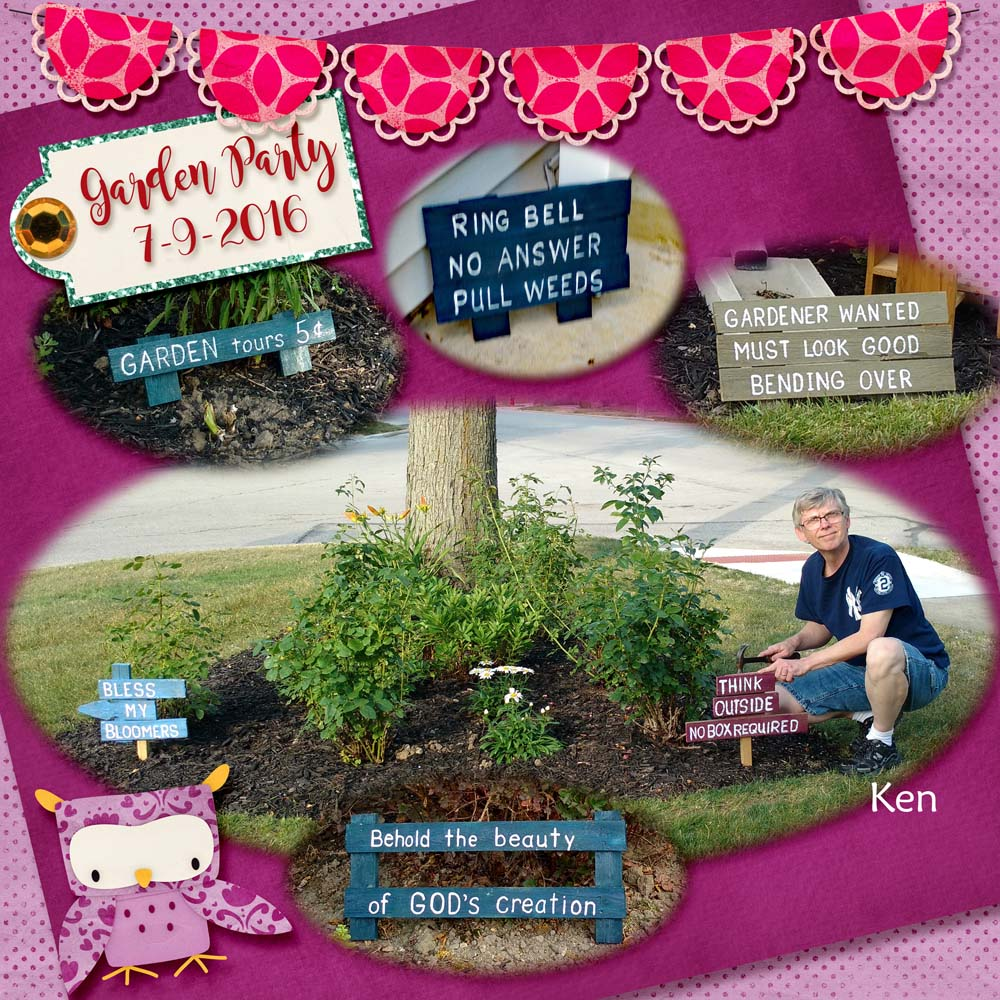Layout by Kathy