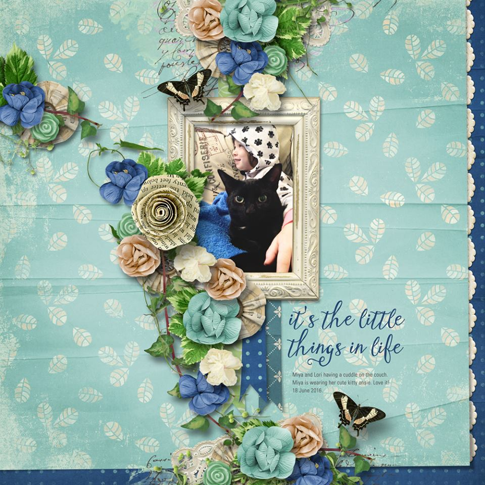 By Bryony (template: Vintage Charm 5 by Heartstrings Scrap Art)