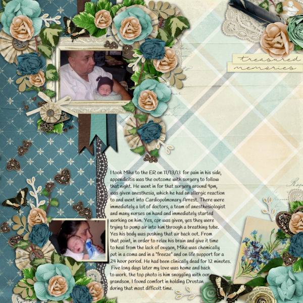By Dee (template: Vintage Charm 5 by Heartstrings Scrap Art)