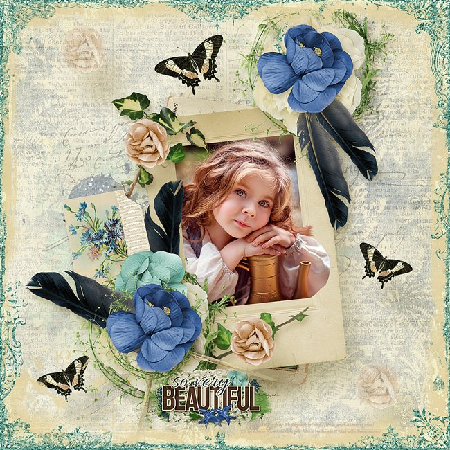 Layout by Heike Photo by Janet Kamskay Photographer/ *Use with Permissions*