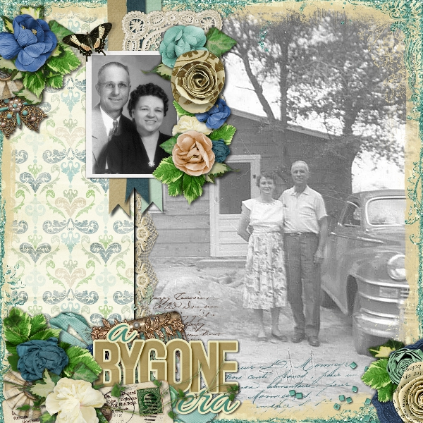 By Tammy (template: Vintage Charm 5 by Heartstrings Scrap Art)