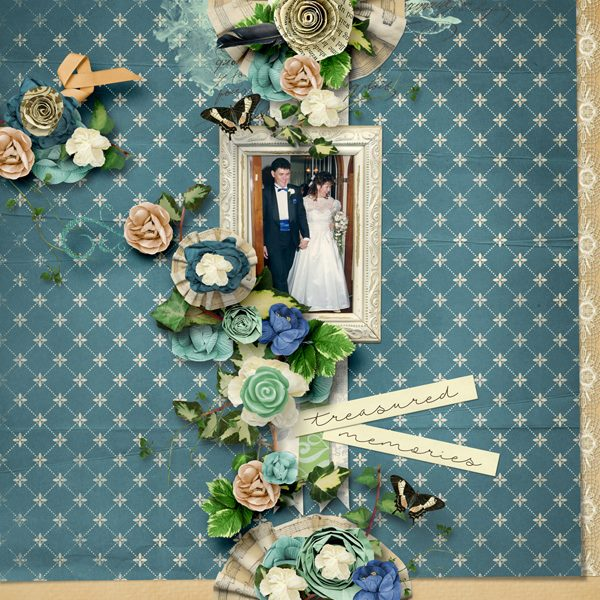 By Toni (template: Vintage Charm 5 by Heartstrings Scrap Art)