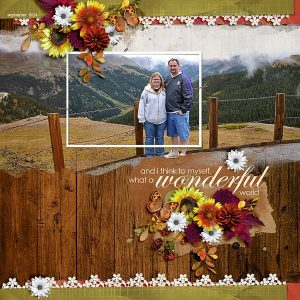 Layout by Danica (template: A Little Bit Arty #6 by Heartstrings Scrap Art)