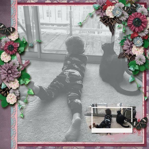 Layout by Robin (template: Fabulous Fall by Heartstrings Scrap Art)