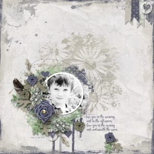 Old World Elegance - layout by Bryony (template: Sunny Day #3 by Heartstrings Scrap Art)