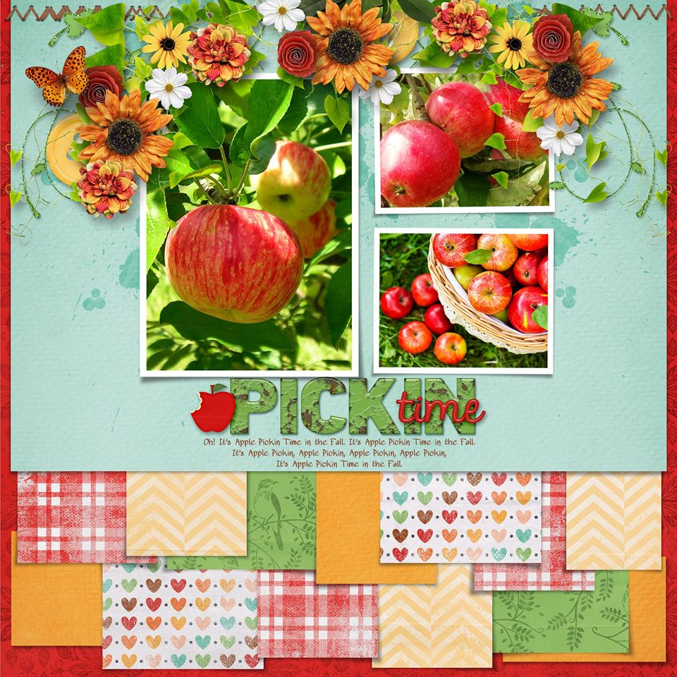 Layout by Connie (template: Strip It #6 by Heartstrings Scrap Art)