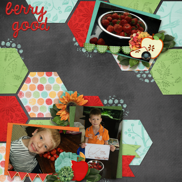 Layout by Lisa Marie (The Cherry On Top)