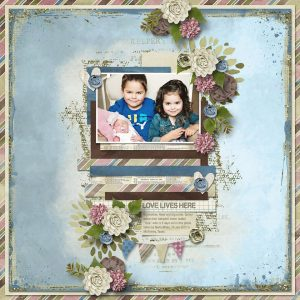 Layout by Connie (template by Heartstrings Scrap Art)